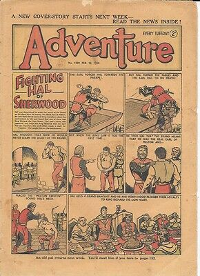 Adventure 1309 (Feb 25, 1950) a fair grade copy
