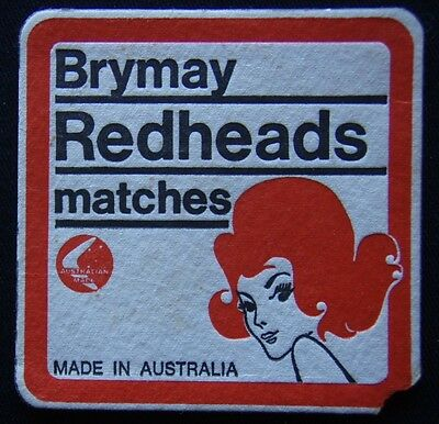 Brymay Redheads Matches Made In Australia Coaster (B264)