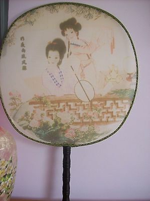Chinese material hand fan