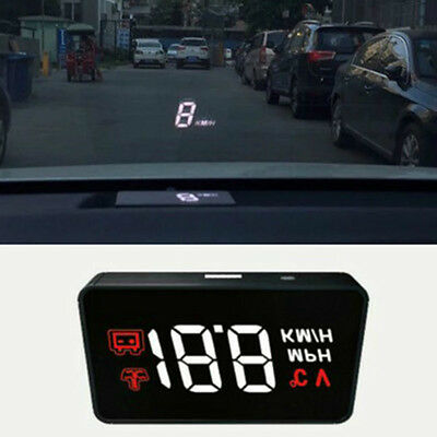 Automobile Vehicle OBD2 HUD Rise Monitor Driving Computer Speed Projector
