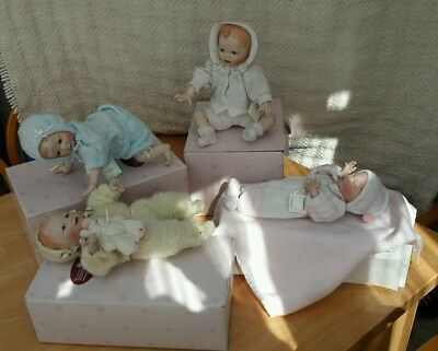 Ashton Drake Miracle Of Life collection all 4 dolls