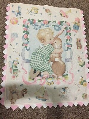 Great Baby Quilt for boy or girl - hand made/crafted