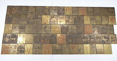 New Hermes Brass Engraving Font No 35-023 Single Line Condensed Block