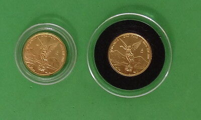 2011 and 2014 Mexico 1/10 oz Gold Libertads in Capsules * Ebay Bux *