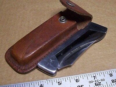 SHARP BRAND Japan Large Lockback Knife 300 VINTAGE Custom Crafted Folding Hunter
