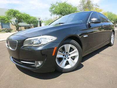 2011 BMW 5-Series 528i Premium Pack Sunroof Keyless Start Black on Black 1-Owner AZ Car 2012 2010 535i