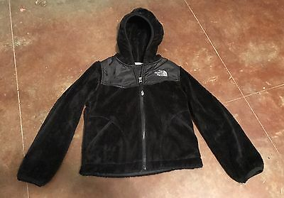 Girls The North Face Black Hooded Jacket Size Xs 6