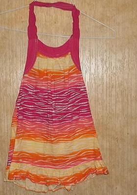 Cute Toddler  Girls Multi Color Print  Dress  Size 4T