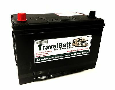 12V 120AH (110AH) TB120 Deep Cycle Leisure Battery Motorhome Caravan Campervan