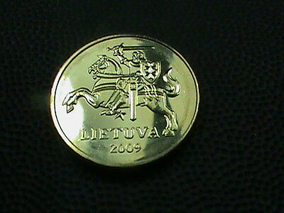 LITHUANIA   20  Centu   2009   BRILLIANT  UNCIRCULATED
