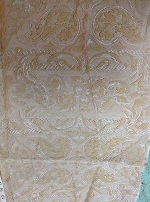 stunning piece of Vintage gold upholstery fabric