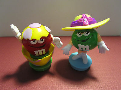 M & M Plain Candies Easter Figures/cake Toppers (S2/22)
