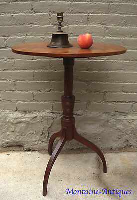Antique Federal  Cherry Candlestand c. 1820