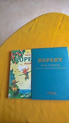 RUPERT ANNUAL 1945 FACSIMILE in slip case
