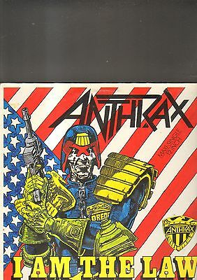 """ANTHRAX – i'm the law EP 12"""""""