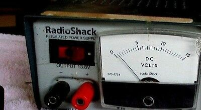Radio Shack DC Volts Meter