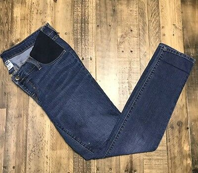Old Navy Maternity Super Skinny Jeans Size 10 Inset Panel