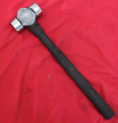 Nice Early Style CHAMPION TOOL CO Farrier Blacksmith 2 1/2lb. ROUNDING HAMMER
