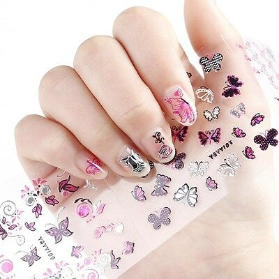 ❤️nouveau (150) Stickers Bijoux Pour Ongles Water Decals Stickers Nail Art