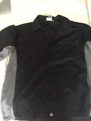 Chefworks Kitchen Shirt Mesh Back  Xl