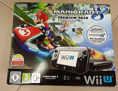 nintendo wii u 32gb premium pack inkl mario kart 8 eur. Black Bedroom Furniture Sets. Home Design Ideas