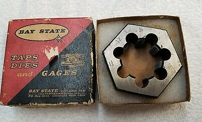 "Vintage Bay State 1 1/2"" × 12 Die In Great Condition"