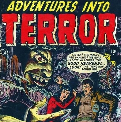 Adventure Into Terror - Vintage Horror Classic Comics Compilation on DVD