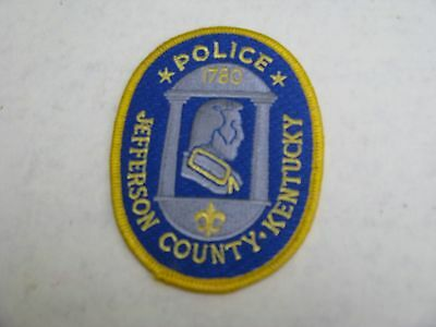 Jefferson County, Ky Shoulder Police Patch