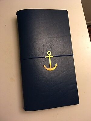 NEW - Midori Travelers Notebook in Royal Blue