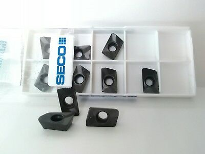 New Seco 10 Pack Carbide Milling Inserts # Mp1500