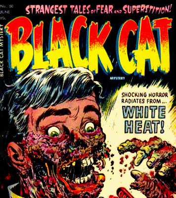 Beyond the Grave, Black Cat Mystery - Vintage Horror Comics Compilation on DVD