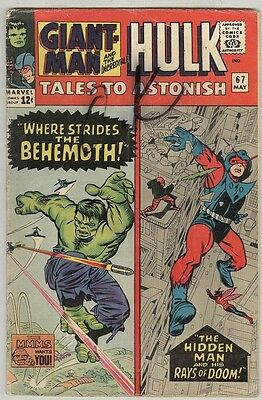 Tales to Astonish #67 May 1965 G