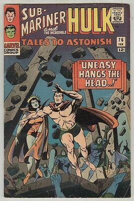 Tales to Astonish #76 February 1966 VG