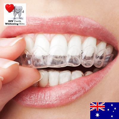 4 x Teeth Whitening Thermo Mould Mouth Trays (4 TRAYS) High Quality Guards