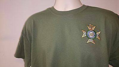 British Army Inspired Embroidered Longsleeve Top Grenadier Guards T-shirt