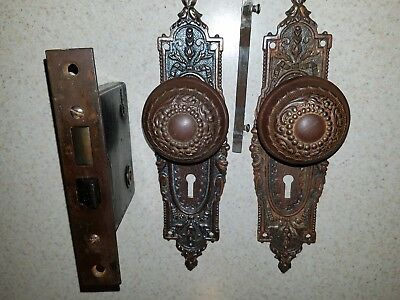 Antique Door  Lock Set