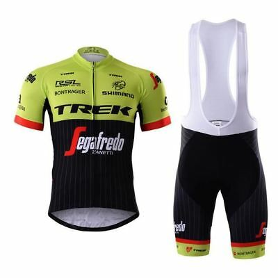 TREK SEGAFREDO SHIMANO Cycling Jersey Bib Set Kit Shorts Shirt Ropa Ciclismo MTB