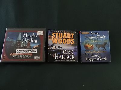Lot of 3 Audio Books on CD