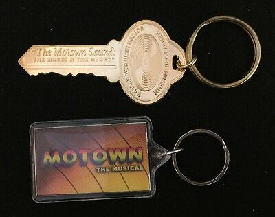 Motown the Musical and Motown Museum Keychains