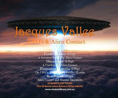 UFO - Jacques Vallee - 10 ebooks + 50 Late Release Titles