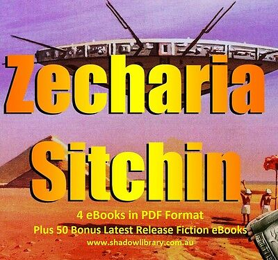 UFO - Zecharia Sitchin - 10 ebooks + 50 Late Release Titles