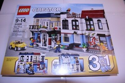 Lego 31026 Bike Shop and Café Sealed new in the box Creator