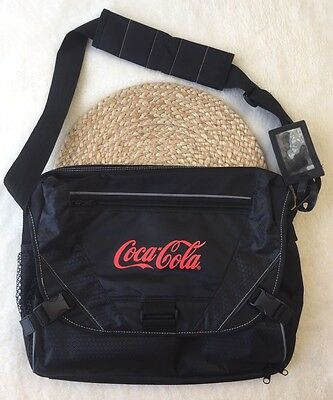 Coca-Cola Messenger Laptop Tablet Shoulder COKE Travel Bag Airport Friendly