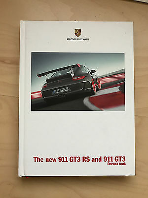 2010 Porsche 911 GT3 and GT3 RS Original US Hardback Brochure