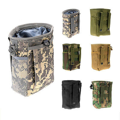 Outdoor Camping Tactical Kit Storage Bag Molle Pouch Belt Waist Pack Pocket 7249