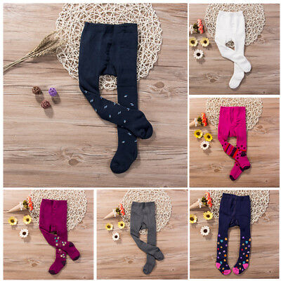 Baby Girl Toddler Thickened Warm Tights Stocking Pantyhose Cotton Pants Socks