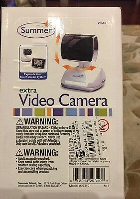 Summer Infant Extra Camera for Touchscreen Digital Video Baby Monitor 29310