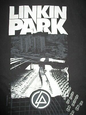 "LINKIN PARK ""Time of Developement"" Concert Tour (XL) T-Shirt Chester Bennington"