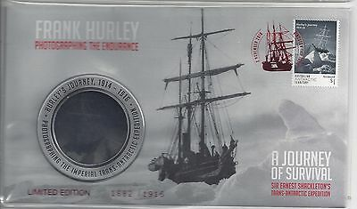 Australia 2017 AAT Frank Hurley limited Edition PNC 1682/1916