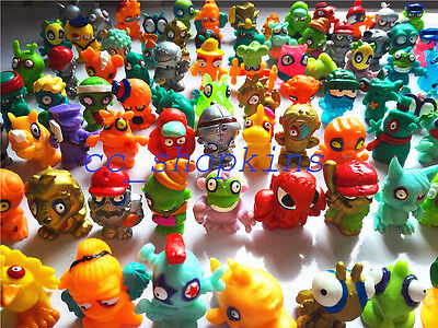 15pcs/lot Ramdon Zomlings Monster Zombie Figures Kids Toys - All Different